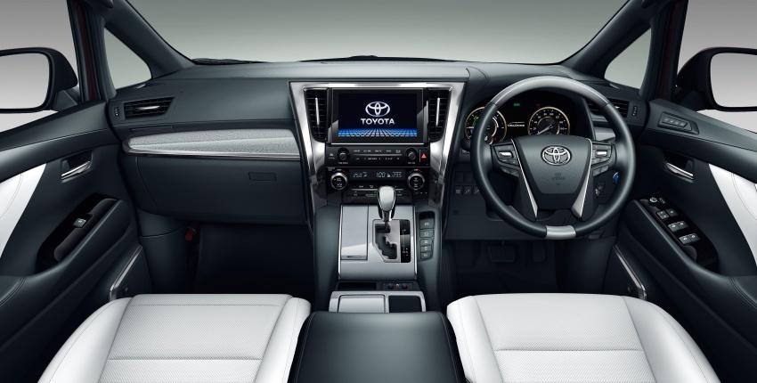 Toyota Alphard, Vellfire <em>facelift</em> – dengan enjin 3.5 liter V6 baru, 8AT dan Toyota Safety Sense generasi kedua Image #753831