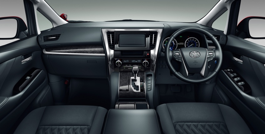 Toyota Alphard, Vellfire <em>facelift</em> – dengan enjin 3.5 liter V6 baru, 8AT dan Toyota Safety Sense generasi kedua Image #753834