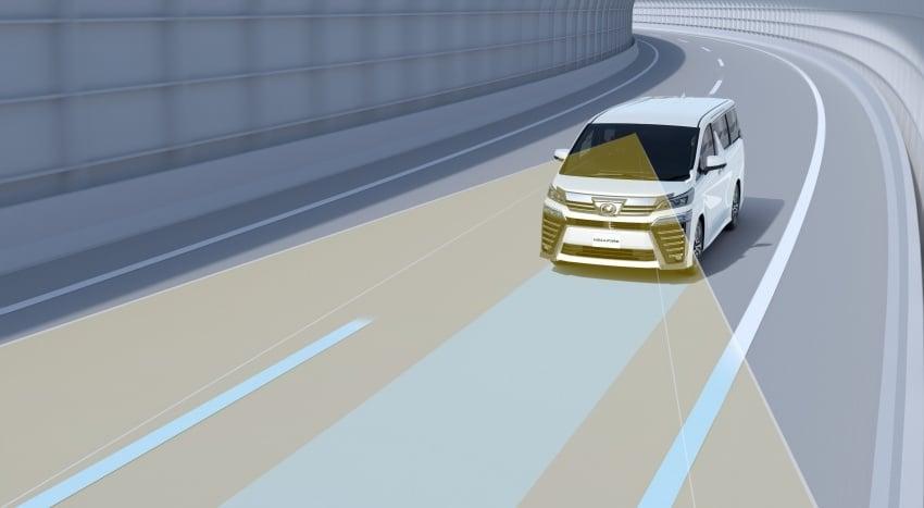 Toyota Alphard, Vellfire <em>facelift</em> – dengan enjin 3.5 liter V6 baru, 8AT dan Toyota Safety Sense generasi kedua Image #753836