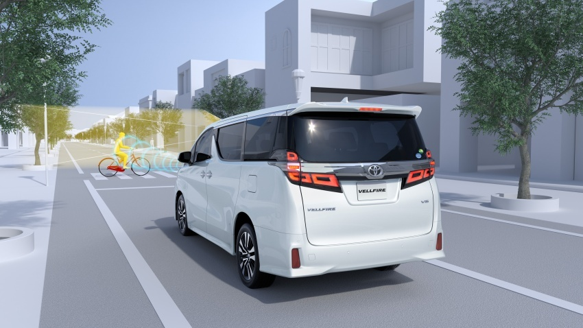 Toyota Alphard, Vellfire <em>facelift</em> – dengan enjin 3.5 liter V6 baru, 8AT dan Toyota Safety Sense generasi kedua Image #753839