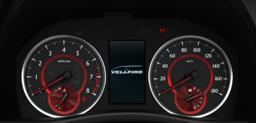 Toyota Alphard, Vellfire <em>facelift</em> – dengan enjin 3.5 liter V6 baru, 8AT dan Toyota Safety Sense generasi kedua Image #753844