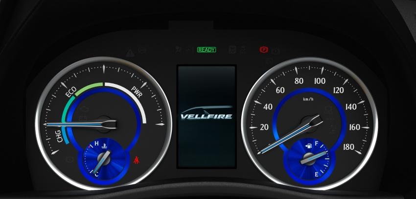 Toyota Alphard, Vellfire facelift: new 3.5 direct-injected V6, 8AT, standard second-gen Toyota Safety Sense Image #753641