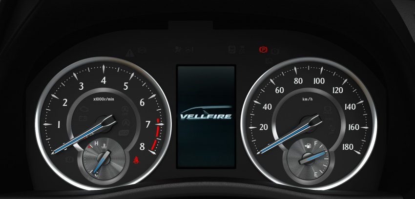 Toyota Alphard, Vellfire facelift: new 3.5 direct-injected V6, 8AT, standard second-gen Toyota Safety Sense Image #753642