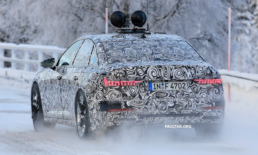 SPIED: C8 Audi A6 spotted – new production lamps? Image #753951