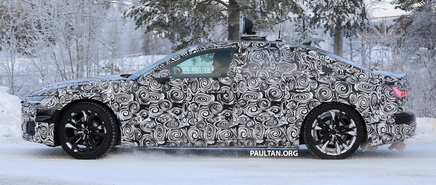 SPIED: C8 Audi A6 spotted – new production lamps? Image #753948