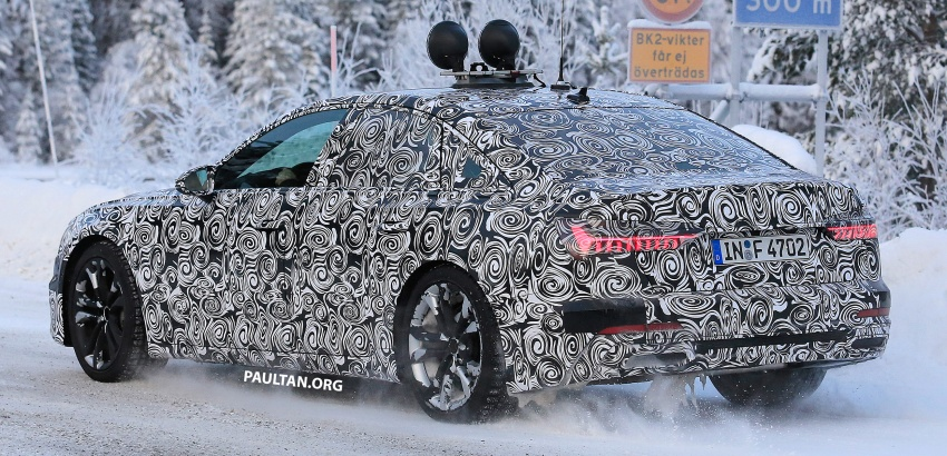 SPIED: C8 Audi A6 spotted – new production lamps? Image #753949