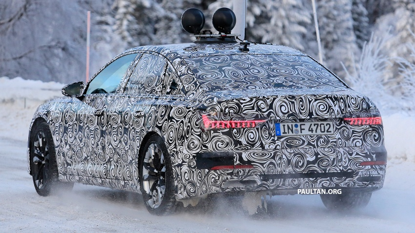 SPIED: C8 Audi A6 spotted – new production lamps? Image #753950
