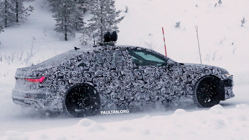 SPIED: C8 Audi A6 spotted – new production lamps? Image #747801