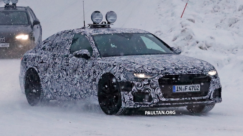 SPIED: C8 Audi A6 spotted – new production lamps? Image #747813