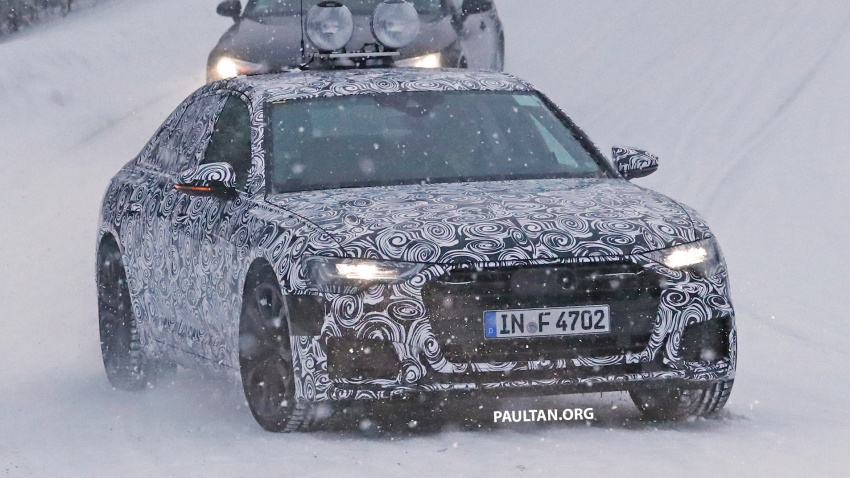 SPIED: C8 Audi A6 spotted – new production lamps? Image #747814