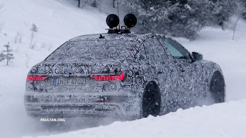 SPIED: C8 Audi A6 spotted – new production lamps? Image #747808