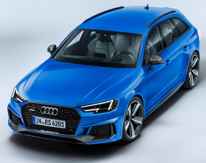 GALLERY: 2018 Audi RS4 Avant – 450 hp C63S rival? Image #751981