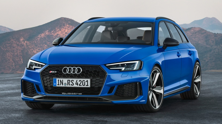 GALLERY: 2018 Audi RS4 Avant – 450 hp C63S rival? Image #751989