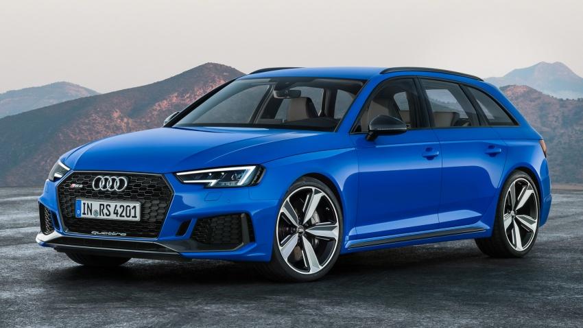 GALLERY: 2018 Audi RS4 Avant – 450 hp C63S rival? Image #751990