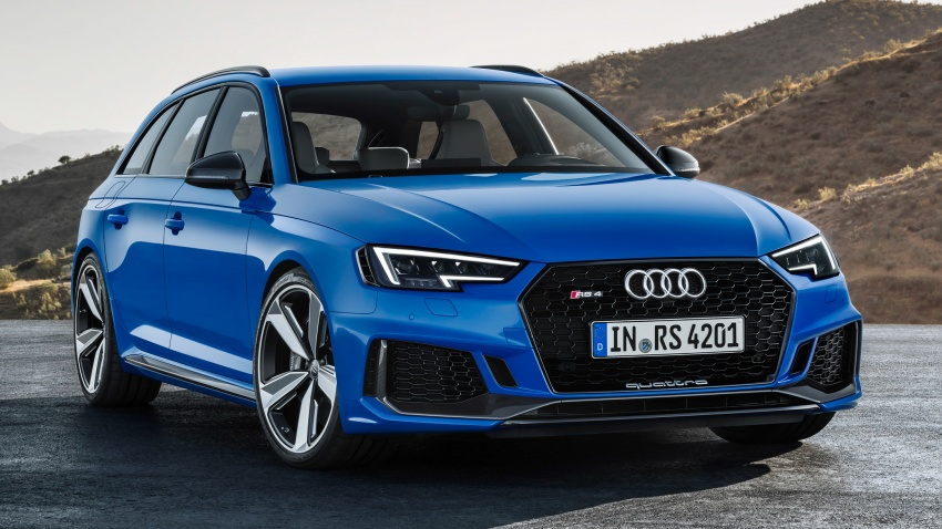 GALLERY: 2018 Audi RS4 Avant – 450 hp C63S rival? Image #751991