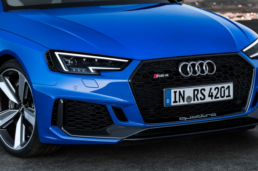 GALLERY: 2018 Audi RS4 Avant – 450 hp C63S rival? Image #751995