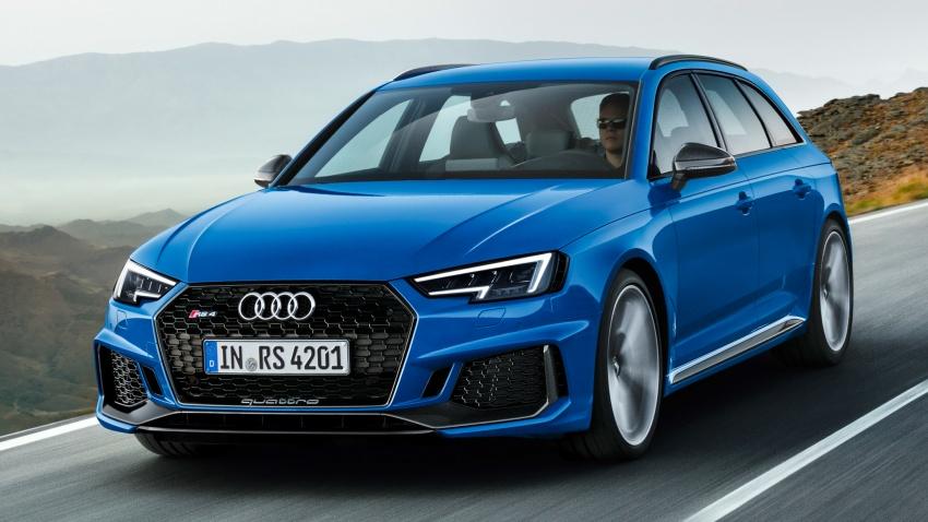 GALLERY: 2018 Audi RS4 Avant – 450 hp C63S rival? Image #752002