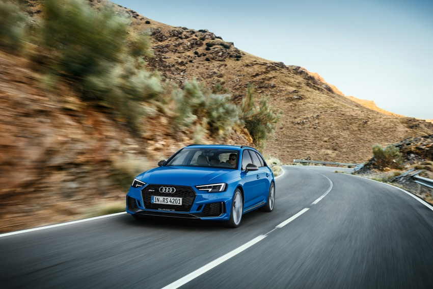 GALLERY: 2018 Audi RS4 Avant – 450 hp C63S rival? Image #752003