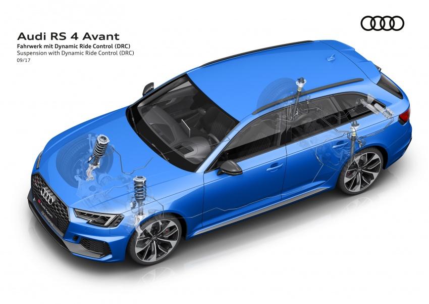 GALLERY: 2018 Audi RS4 Avant – 450 hp C63S rival? Image #752008