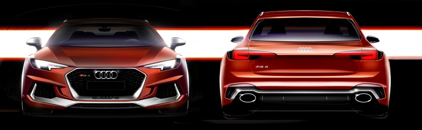 GALLERY: 2018 Audi RS4 Avant – 450 hp C63S rival? Image #752015