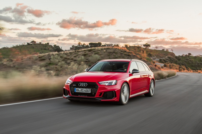 GALLERY: 2018 Audi RS4 Avant – 450 hp C63S rival? Image #752019