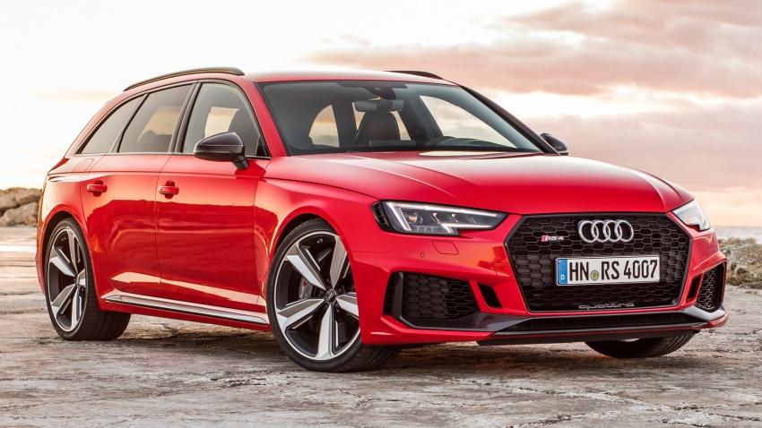 GALLERY: 2018 Audi RS4 Avant – 450 hp C63S rival? Image #752021