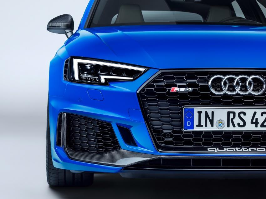 GALLERY: 2018 Audi RS4 Avant – 450 hp C63S rival? Image #751976