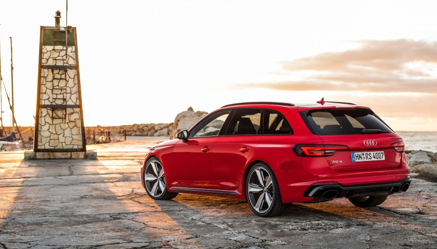GALLERY: 2018 Audi RS4 Avant – 450 hp C63S rival? Image #752023