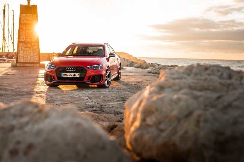 GALLERY: 2018 Audi RS4 Avant – 450 hp C63S rival? Image #752024