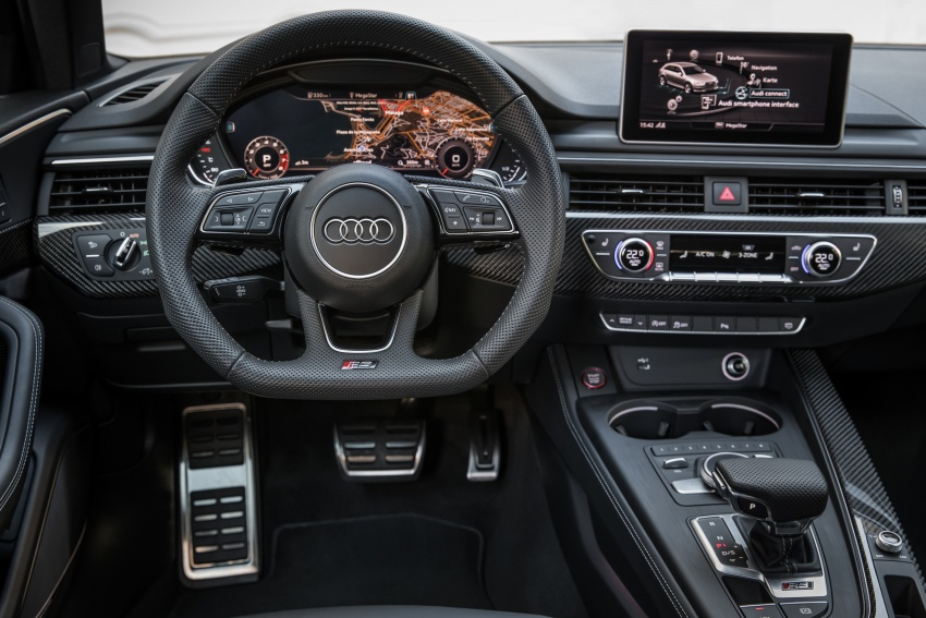 GALLERY: 2018 Audi RS4 Avant – 450 hp C63S rival? Image #752027