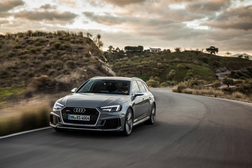 GALLERY: 2018 Audi RS4 Avant – 450 hp C63S rival? Image #752031