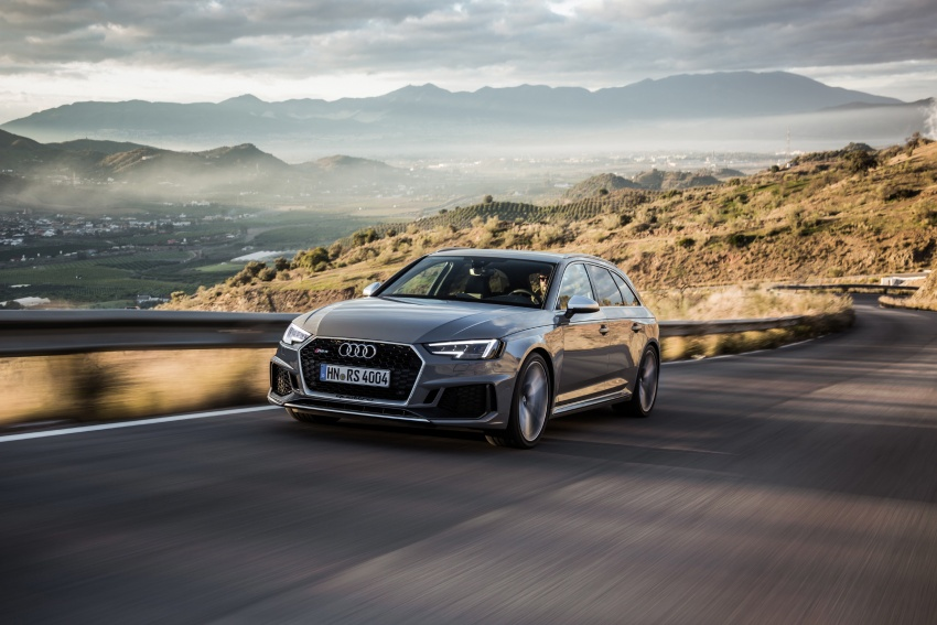 GALLERY: 2018 Audi RS4 Avant – 450 hp C63S rival? Image #752032
