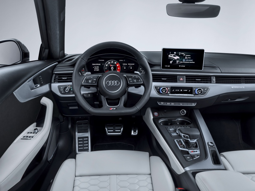 GALLERY: 2018 Audi RS4 Avant – 450 hp C63S rival? Image #751978