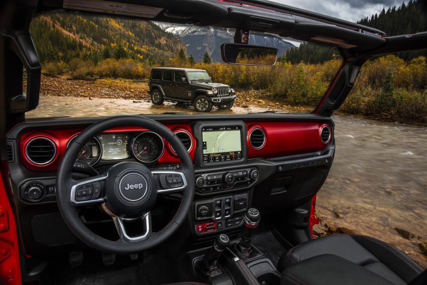 2018 Jeep Wrangler gains new hybrid turbo engine Image #747949