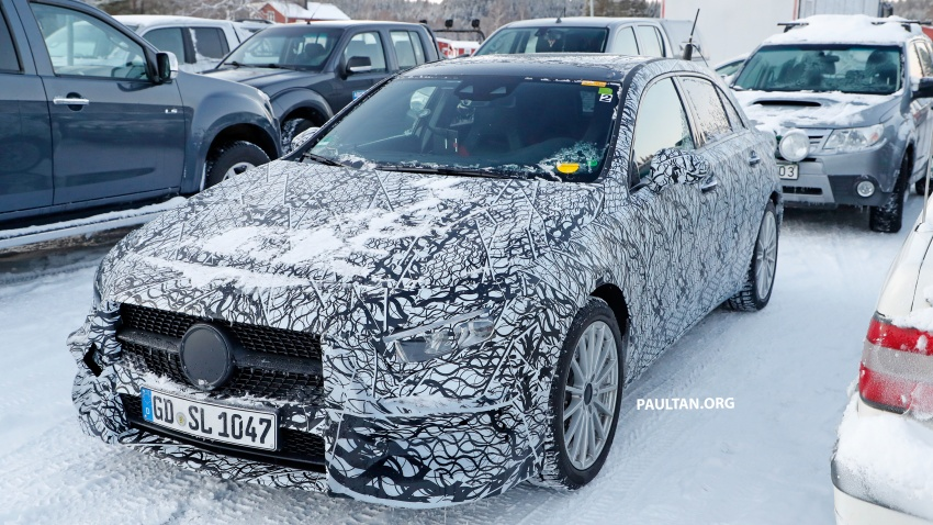 SPIED: 2018 Mercedes A-Class plug-in hybrid spotted! Image #753209