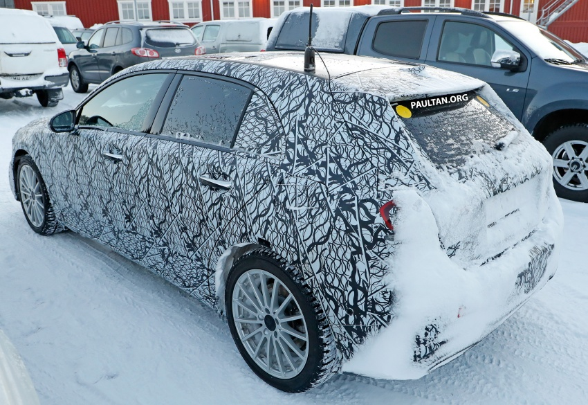 SPIED: 2018 Mercedes A-Class plug-in hybrid spotted! Image #753211