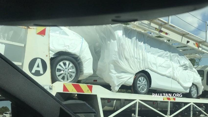 SPYSHOTS: 2018 Nissan Serena spotted on a trailer Image #747353