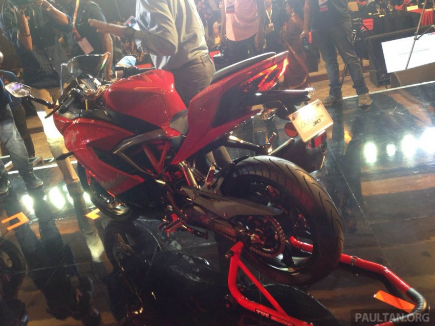 2018 TVS Apache RR 310 launched in India – based on BMW Motorrad G 310 R, 34 hp, full-fairing, RM12,939 Image #747853