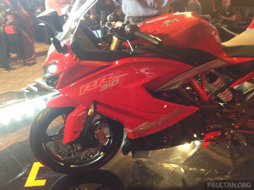 2018 TVS Apache RR 310 launched in India – based on BMW Motorrad G 310 R, 34 hp, full-fairing, RM12,939 Image #747854