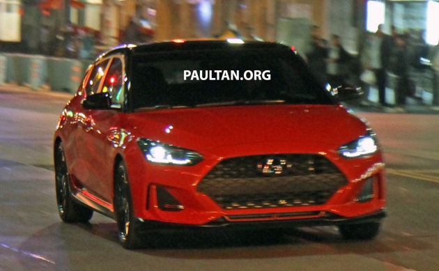 2019 Hyundai Veloster - new interior gets previewed