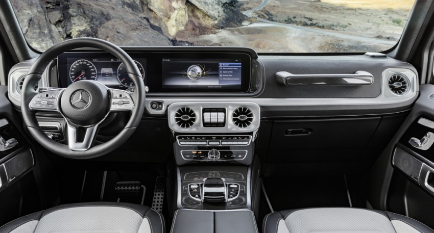 2019 Mercedes G-Class – official pics of new interior Image #749730