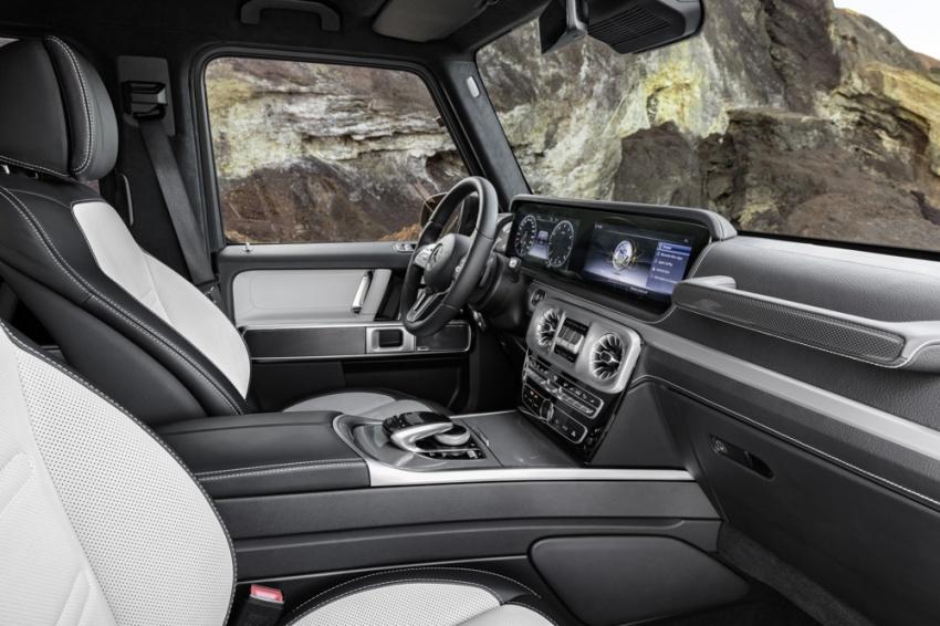 Mercedes-Benz G-Class 2019 – foto rasmi ruang dalaman rekaan baharu; terima perubahan besar Image #749888