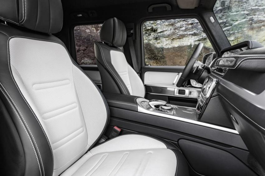 Mercedes-Benz G-Class 2019 – foto rasmi ruang dalaman rekaan baharu; terima perubahan besar Image #749889
