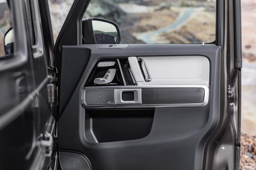 Mercedes-Benz G-Class 2019 – foto rasmi ruang dalaman rekaan baharu; terima perubahan besar Image #749890
