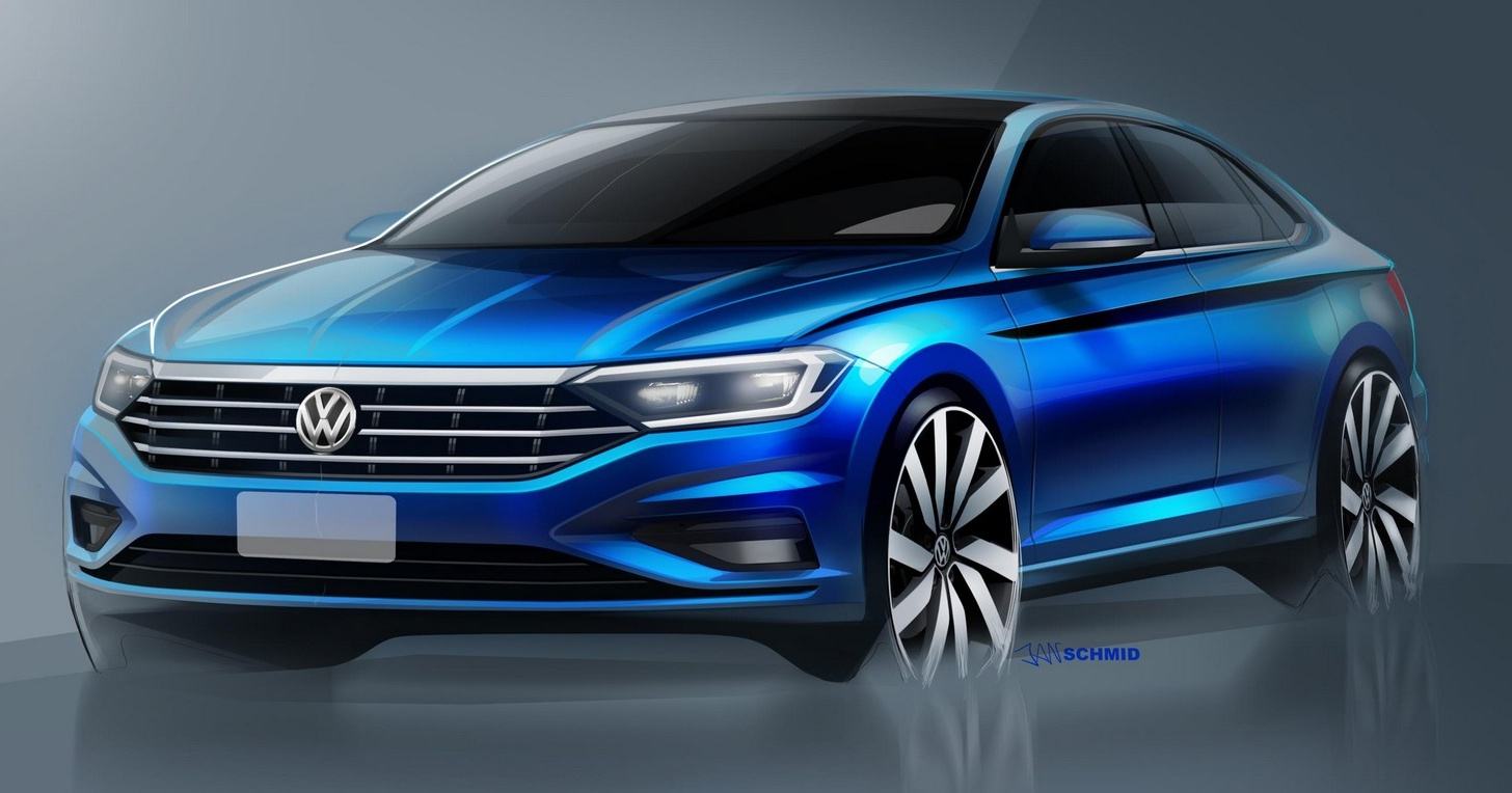 2019 Jetta >> 2019 Volkswagen Jetta – more teaser images shown Paul Tan - Image 749773
