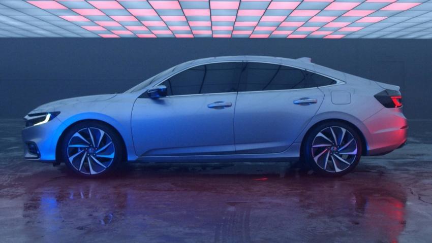 Prototaip Honda Insight generasi baharu bakal tampil di Detroit bulan hadapan – lebih sporty, lebih berkuasa Image #752610