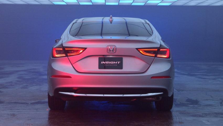 Prototaip Honda Insight generasi baharu bakal tampil di Detroit bulan hadapan – lebih sporty, lebih berkuasa Image #752607