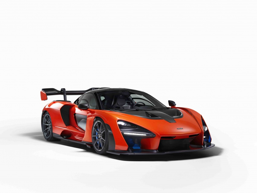 McLaren Senna – 789 hp road-legal track monster Image #749139