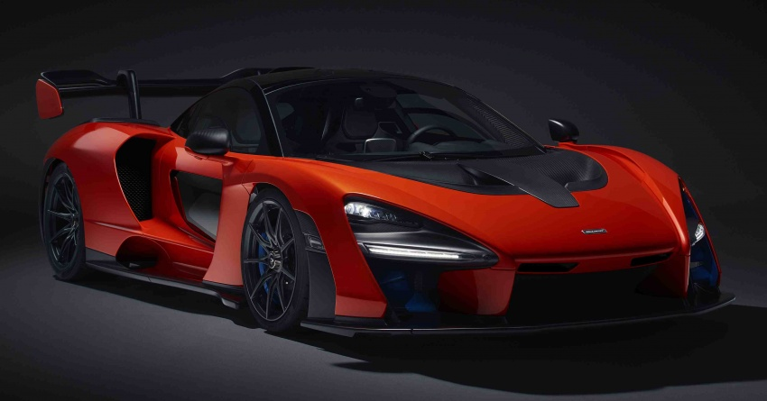 McLaren Senna – 789 hp road-legal track monster Image #749140