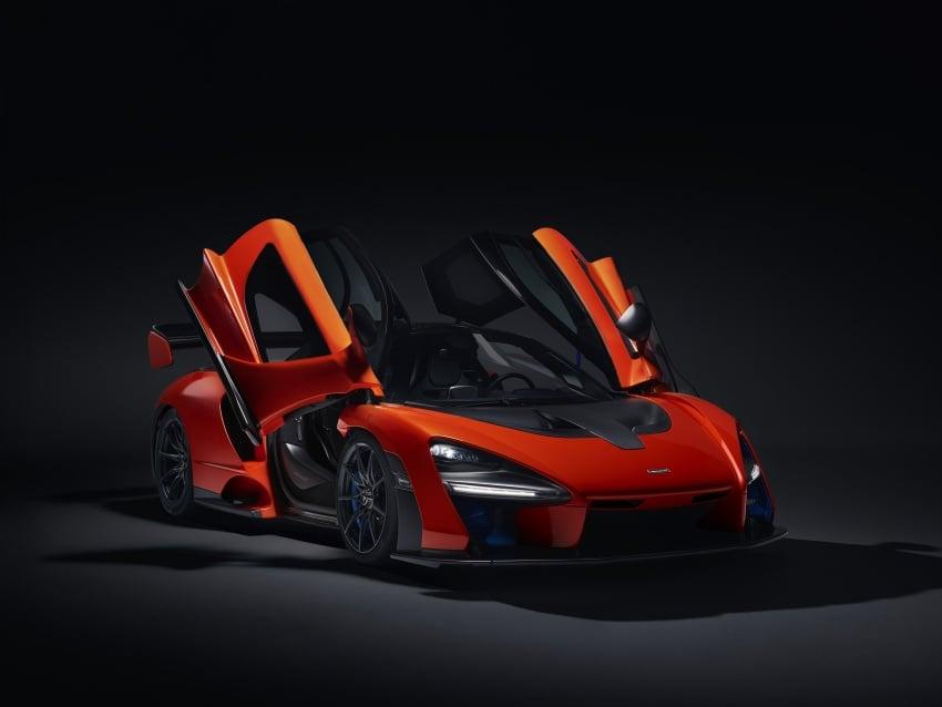 McLaren Senna – 789 hp road-legal track monster Image #749175